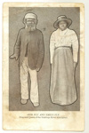 Postcard, Bob Fly and Emily Fly; c1900; 5070