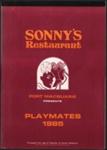 Calendar, Sonny's Restaurant Port Macquarie Playmates 1985; John Bowie; Uptin Print; 2017.63