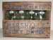 Wooden Crate and Soft Drink Bottles, W H Marshall & Sons; c1975; 2009.22