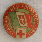 Badge, Italian Red Cross Day; 2018.57