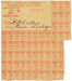 Meat Ration Card issued to R. H. Warlters; 1948; 2014.18
