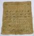 Sampler; Jane Mary Blair; 1864; C95
