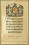 Memorial Scroll, John Oliver Ambrose Reid; 1922; 2658