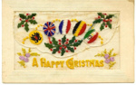 Postcard, Happy Christmas; 1916; 5695a