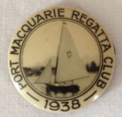 Badge, Port Macquarie Regatta Club; 1938; 2014.27