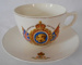 Cup and Saucer, Coronation King George VI and Queen Elizabeth; 1937; 2018.25