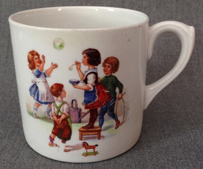 Child's Mug; Empire Porcelain Co; 1924; 2014.42