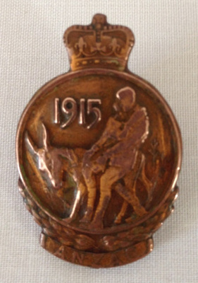 Anzac Medallion Lapel Badge,  C T Hawes; 1967; 27.90e