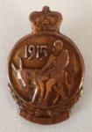 Anzac Medallion Lapel Badge,  C T Hawes; 1967; 27.90e