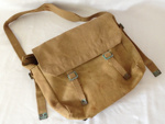 Khaki Canvas Bag; c1942; 2014.29