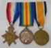 Medal, 1914-1915 Star, Cecil Hawes; 1920; 27.90a