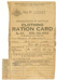 Clothing Ration Card issued to H. Farrawell; A H Pettifer; 1944; 1231b