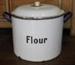 Flour Bin; c1910; 6006a