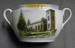 Souvenir Sugar Bowl, Church of England Port Macquarie; Victoria Czechoslovakia - Schmidt & Co.; c1922 ; 2012.63a