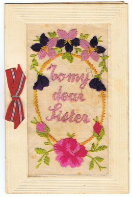 Greeting Card, To My Dear Sister; 1917; 2017.09