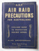 Booklet, Air Raid Precautions for Australians; Bridge Printery Pty Ltd; 1942; 2016.62