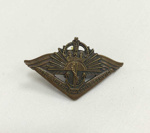 WWII Badge - Returned from Active Service; AMOR SYDNEY; TAM2016.158
