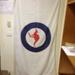 Royal Australian White Flag with RAAF Roundel; Wava Corporation incorporating the Flag Centre of Australia; TAM2014.17
