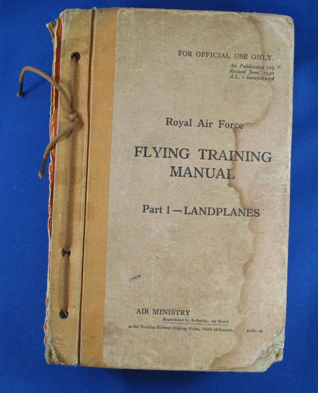 book r a f flying training manual royal air force victorian rh ehive com air force training manual 1968 air force training manual 1968
