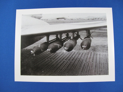 Photograph- Meteor armed with Napalm Rockets; unknown; c.1950; TAM2012.293