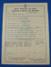 Certificate of Service and Discharge; Royal Australian Air Force, Printing Unit; November 1945; TAM2012.1