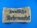 Deutfche Wehrmacht arm band; c.1939; TAM2012.487