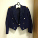 Wing Commander Peter William Mahood DSO: RAAF Winter Mess Dress Uniform Jacket and trousers, buttons and epaulettes attached; Wai Kee Taylor; TAM2014.60