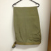 RAAF Green Trousers with belt c.1954; Commonwealth Government Clothing Factory; c.1954; TAM2014.86