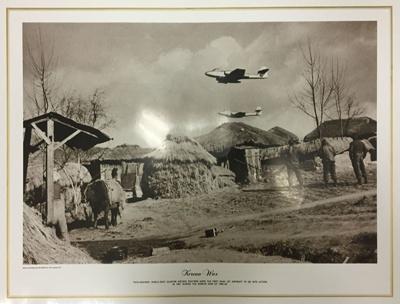 """Print - """"Korean War""""; TAM2017.55"""