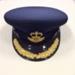 Alan Clements: RAAF Officers Cap; Mountcastle Pty Ltd; 2002; TAM2014.51