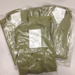 RAAF Khaki Shirt Long Sleeve, New in packaging; Commonwealth Government Clothing Factory; 1965; TAM2014.75