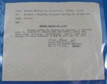 10EFTS Documents - Aircraft Maintenance; R.A.A.F - 10EFTS Temora; c.1945; TAM2012.81