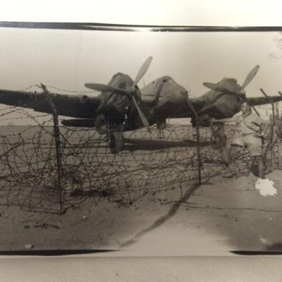 Photo - Bristol Beaufighter - Egypt 1942; 1942; TAM2016.336