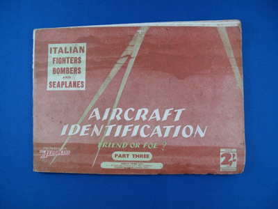 Book- Italian Fighters, Bombers and Seaplanes; Temple Press Limited; 1941; TAM2012.345