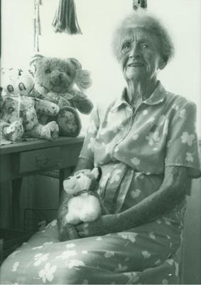 Portrait of Isabel (Bella) Hansen, ca.1999; Narelle Renn; ca.1999; 2013-30