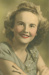 Portrait of Colleen Murdoch (nee Tunny), Hughenden, 1948; City Studios, Townsville; 1948; 2013-4