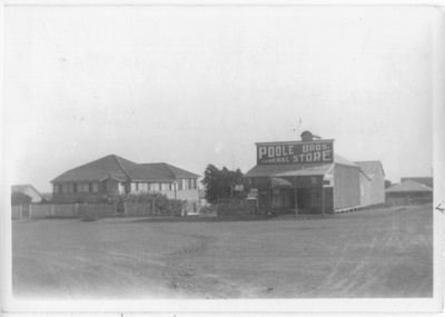 Poole Bros. General Store and residence, Hughenden, late 1920s; Unidentified; 2011-167