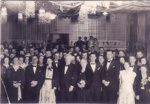 Group photo of Prime Minister's Ball, Hughenden 1938; Unidentified; 2011-406