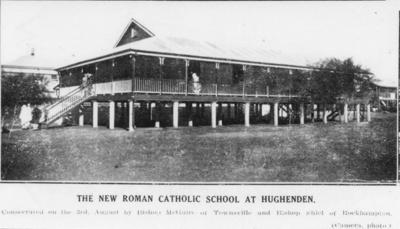 St Francis School building, Hughenden, 1932