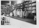 Staff of Wilks & Harrop, Hughenden, Queensland, 1940; Unidentified; 1940; 2011-386