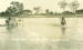 Men with horses crossing the river, Hughenden 1920; Unidentified; 1920; 2012-136