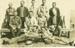 Real photo postcard of members of Hughenden Rifle Club, 1923; Unidentified; 1923; 2011-367