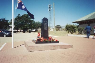 Cenotaph, Hughenden, 2003; Murdoch, Colleen; 2003; 2011-66