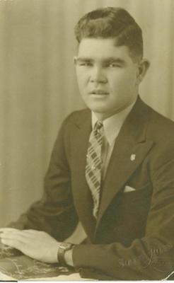 Portrait of Walter Leslie Sladden, ca. 1939; Sidney Riley, Brisbane; ca.1939; 2011-281
