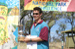 2007 Porcupine Gorge National Park Challenge Open Men's winner David Nahrung with certificate and trophy; Flinders Shire Council; 15 June 2007; 2012-280