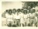 Group of girls at a picnic, Hughenden ca.1946; Unidentified; ca.1946; 2013-35