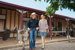Tom and Andrea Duddy outside Prairie Hotel, Priaire 2011; Flinders Shire Council; 2011; 2013-56