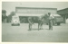 Wilfred Hall and horse on Brodie Street, Hughenden, ca.1950s; Unidentified; ca.1950s; 2012-230