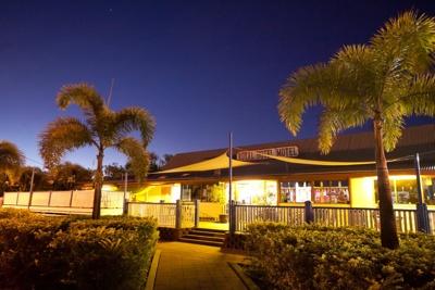 Royal Hotel at night, Hughenden 2011; Flinders Shire Council; 2011; 2013-57