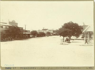 Brodie Street, Hughenden ca.1920s; Unidentified; 1920s; 2012-24